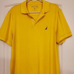 Yellow Nautica Shirt